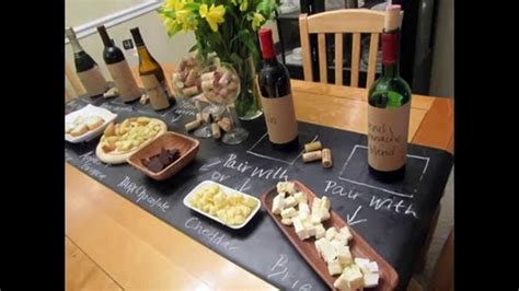 wine birthday decorations wine and cheese party decorations youtube