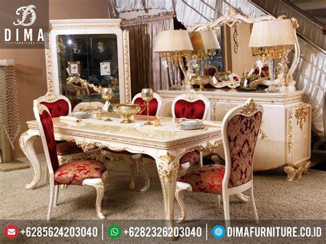 Meja Makan Di Blitar set meja makan mewah terbaru jepara df 0151 dima