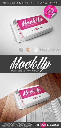 blister card template free potato chips packaging mock up psd template graphic