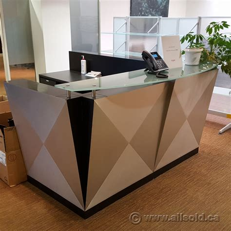 reception desk with transaction counter reception desk with transaction counter global grey l