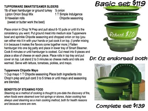 Tupperware Kitchen Smart 59 best smart steamer tupperware images on