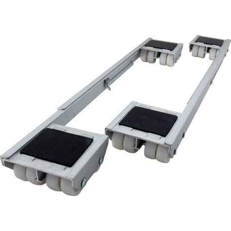 shepherd 18 1 4 28 in aluminum steel appliance rollers