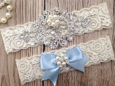 Wedding Garters by Something Blue Garter Wedding Garter Bridal Garter