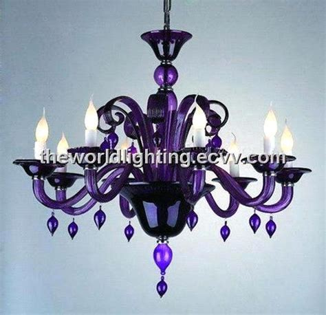 kronleuchter lila purple glass chandelier with 8 lights chg0005 purchasing