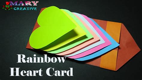 Waterfall Card Template Draw So by How To Make A Waterfall Card Step By Step Hearts Cards