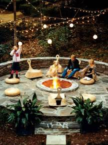 Firepit In Backyard Triyae Backyard Pit Designs Various Design Inspiration For Backyard