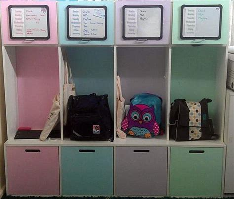 Get 20 All You Can Bag At Delias by 20 Cool School Bag Storage Ideas
