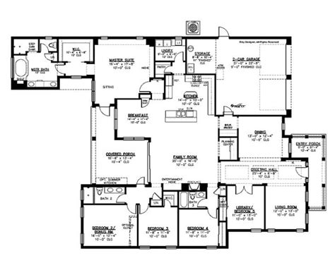 best of simple 5 bedroom house plans new home plans design