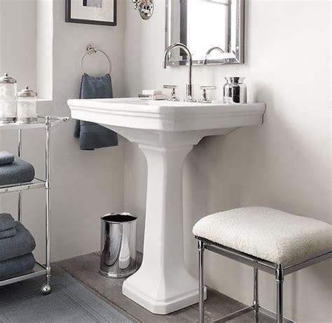 bathroom sink restoration restoration hardware park pedestal sink bathroom pinterest