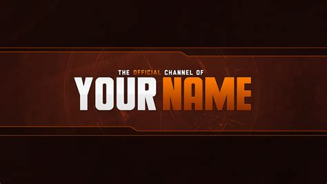 12 Indie Youtube Banner Template Psd Images Youtube Banner Size Template Youtube Banner Channel Thumbnail Template