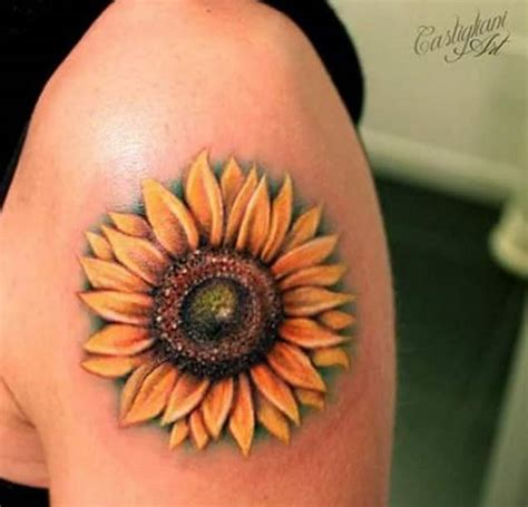simple sunflower tattoo 40 fantastic sunflower tattoos that will inspire you to