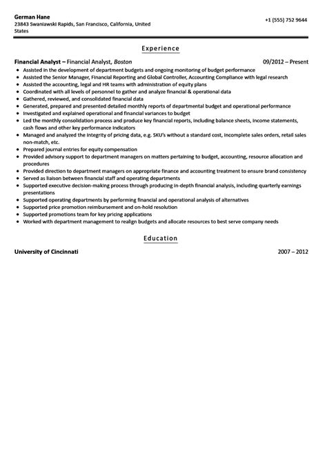 court reporter resume samples financial reporting manager sample