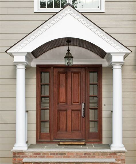 Front Door Pillars Choosing Excellent Front Doors For Homes Design Ideas Picturesque Front Doors For