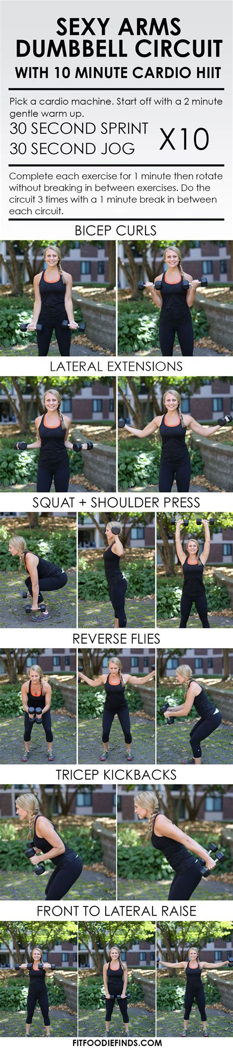 10 minute arm workout healthcom sexy arms circuit workout with cardio hiit
