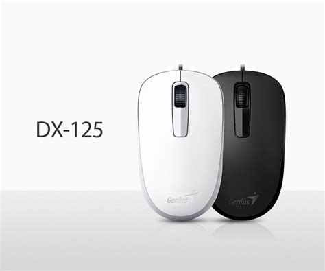 Mouse Genius Usb Dx 125 genius dx 125 wired mouse