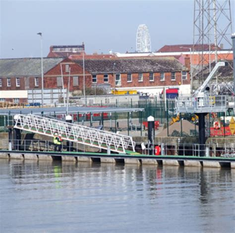 design engineer great yarmouth walcon marine completes berthing facilities at great