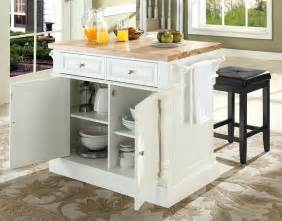 buy kitchen island with square seat stools in white