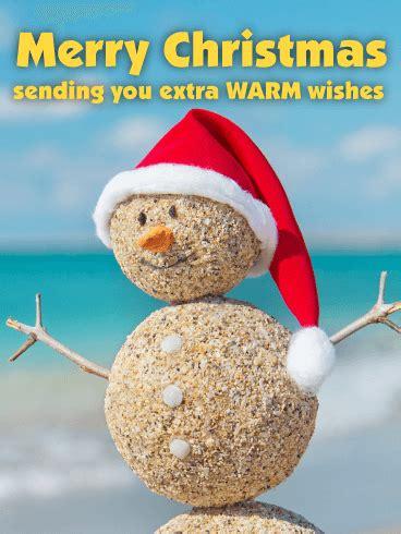 extra warm wishes   funny christmas card birthday greeting cards  davia
