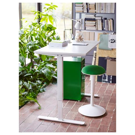 Skarsta Desk Sit Stand White 160x80 Cm Ikea Ikea Stand Up Desks