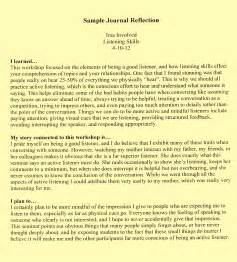 reflection essay example friv1k com