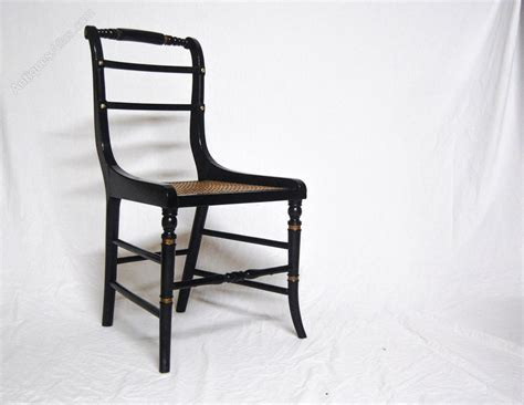 Regency Dining Chair Four Regency Dining Chairs In The Gillows Manner Antiques Atlas