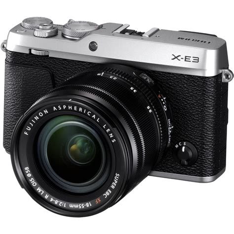 Fujifilm X E3 Black Kamera Mirrorless Kamera Fuji Limited fujifilm x e3 mirrorless digital with 18 55mm 16558669