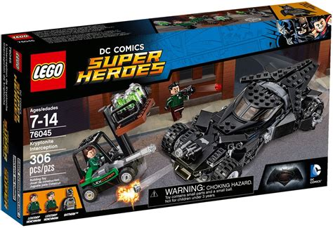 review lego 76045 kryptonite interception