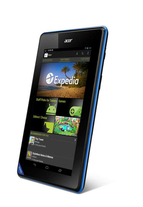Hp Acer Android Jelly Bean acer iconia b1 con android jelly bean celular actual m 233 xico