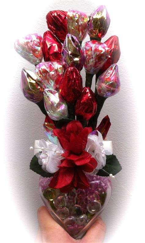 valentines sweet bouquets the gallery for gt chocolate bouquet
