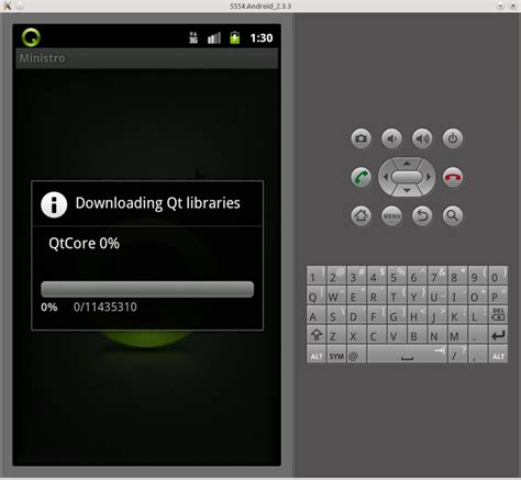 qt programming android development of qt application with access to mysql under