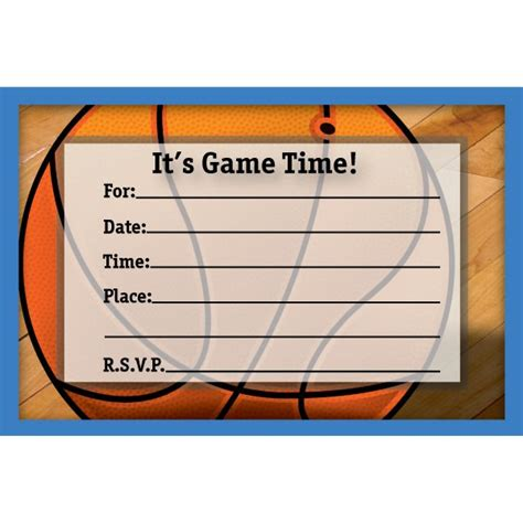 Free Printable Basketball Birthday Invitations Basketball Ticket Template Free