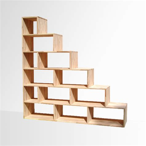 piccole librerie in legno scala yen e