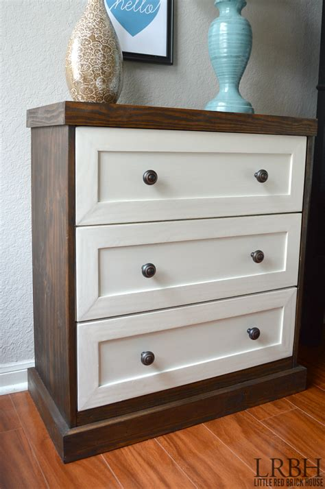 ikea dresser hacks two toned ikea rast dresser hack brick house