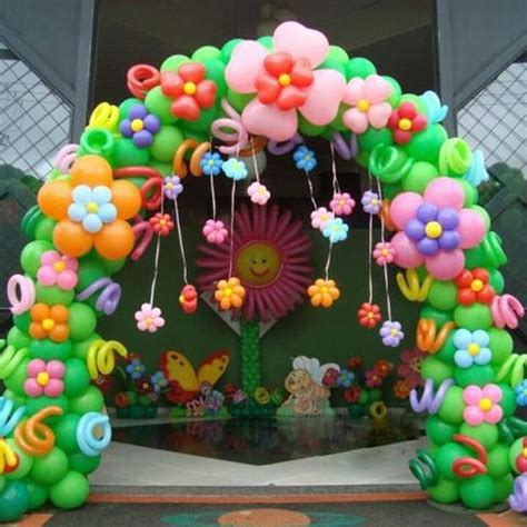 Cheap Home Decors by Birthday Balloon Decoration Arch Image Inspiration Of