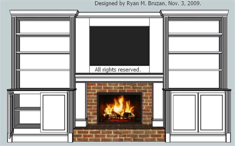 Fireplace With Built In Bookcases by Built In Bookcase With Fireplace View Larger Higher