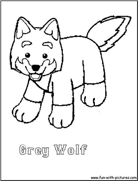 Webkinz Greywolf Coloring Page Webkinz Coloring Pages
