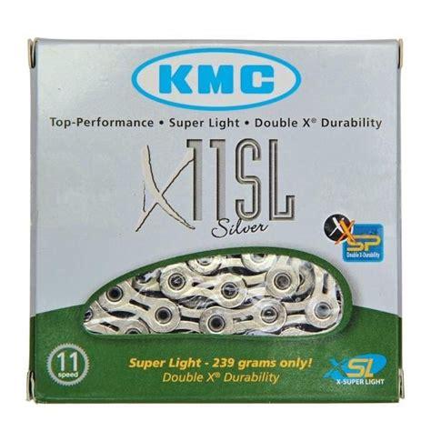 cadena kmc 11v x11sl silver bikeshop - Cadena Kmc X11sl Silver