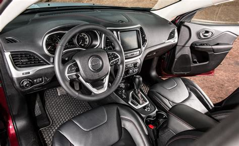 Jeep Trailhawk Interior Car And Driver
