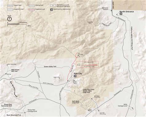 joshua tree park map file nps joshua tree pine city board map jpg wikimedia