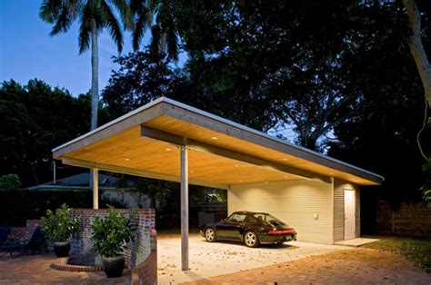 jolly residence sarasota florida modern garage
