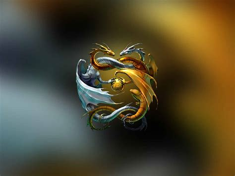 wallpaper gold dragon martial arts wallpapers wallpaper cave