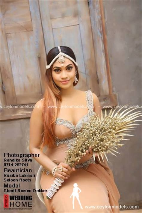 sri lankan actress photos with name sri lankan actress sheril decker bridal shoot 2016