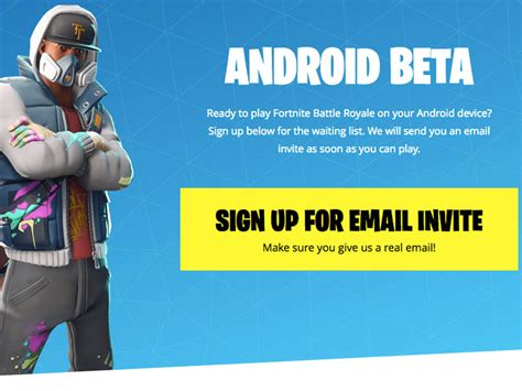 fortnite android beta fortnite for android beta is now available technobaboy