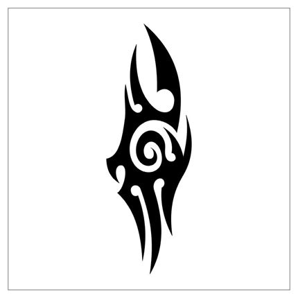 simple tribal tattoos tribal simple clipart best