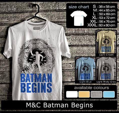 Kaos Batman Spandex kaos m c batman begins