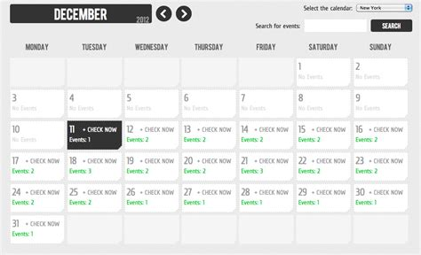 Event Calendar Events Calendar By Wachipi Codecanyon