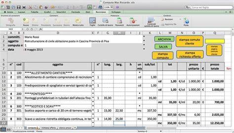 computo metrico ristrutturazione appartamento excel esempio computo metrico ristrutturazione excel semplice