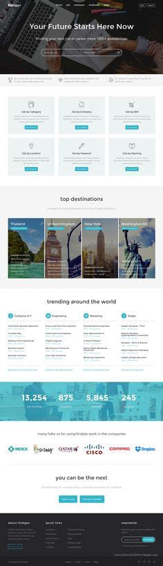 bootstrap templates for job portal free download 1000 ideas about portal website on pinterest website