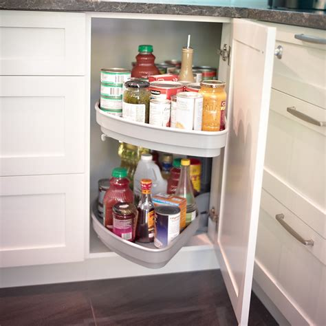 rangement pour armoire de cuisine cuisines beauregard accessoire syst 232 me de rangement