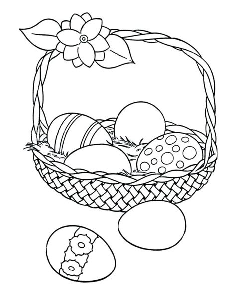 easter basket coloring pages easter baskets coloring pages youruseful info